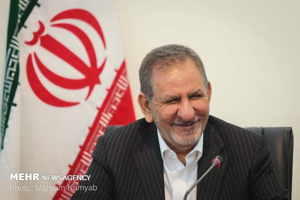 جهانگیری درخشش ورزشکاران ایرانی در بازی های آسیایی را تبریک گفت