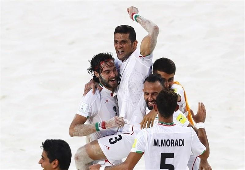 جام بین قاره ای فوتبال ساحلی، ایران با شکست مصر فینالیست شد