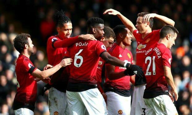 صعود یونایتد به رده چهارم لیگ برتر
