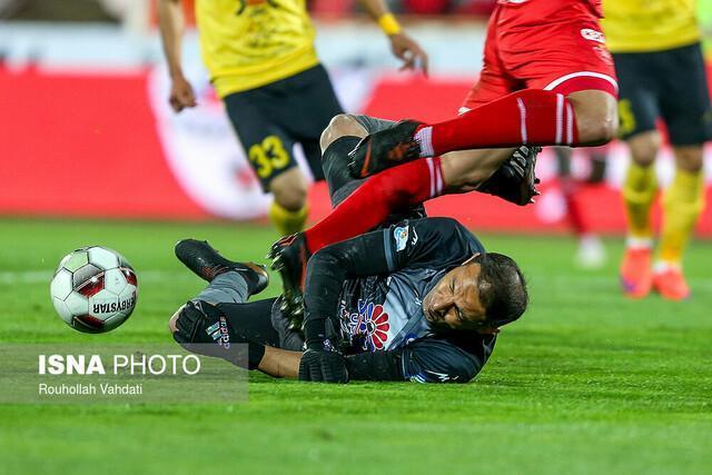 تساوی پارس جنوبی و سایپا در لیگ برتر فوتبال