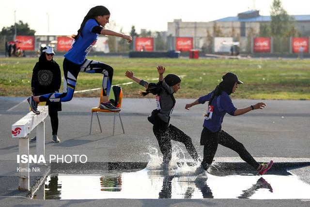 خاتمه مسابقات دو و میدانی انتخابی تیم ملی بانوان ، دو رکورد ملی شکسته شد