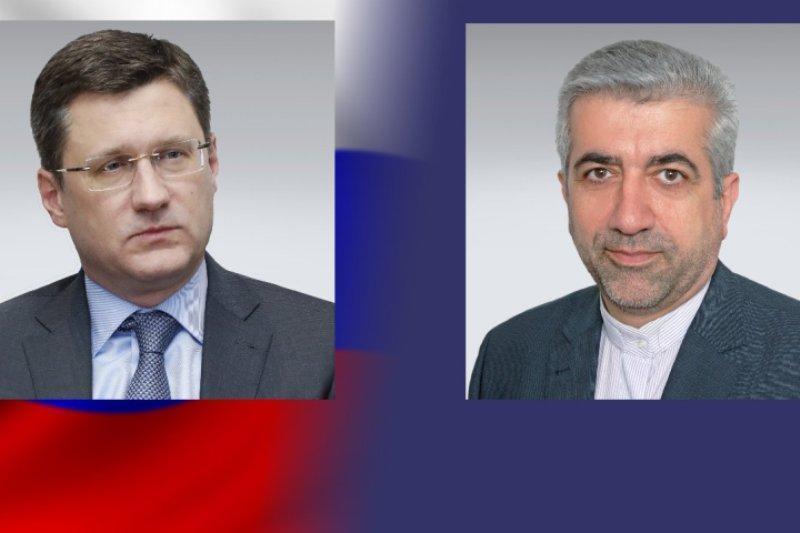 تداوم رایزنی های وزرای انرژی ایران و روسیه