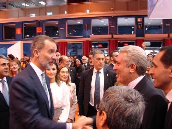 اظهار علاقه مندی پادشاه اسپانیا برای سفر به ایران