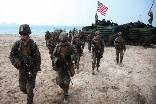 رزمایش نظامی چندملیتی جنوب شرق آسیا با مشارکت آمریکا شروع شد