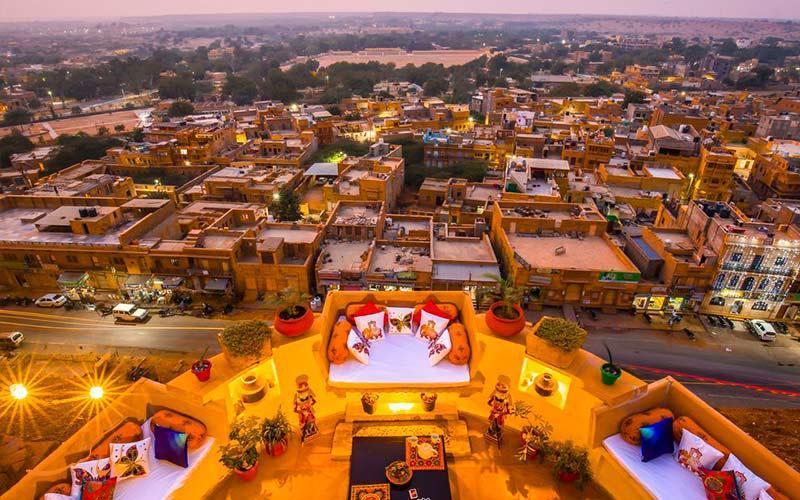 دومین دیوار بلند جهان در قلعه های راجستان هند!