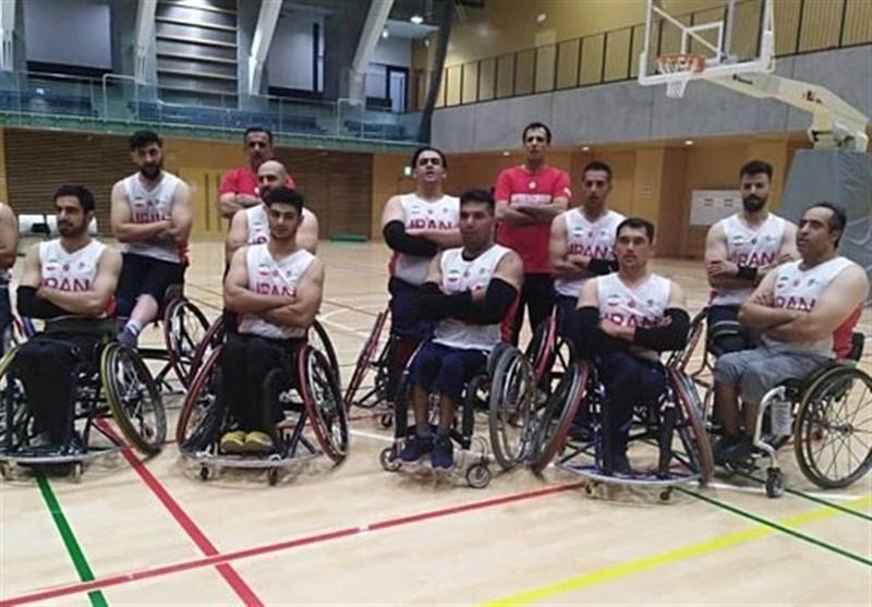 دیدار محبت آمیز تیم ملی بسکتبال با ویلچر ایران برابر کره جنوبی