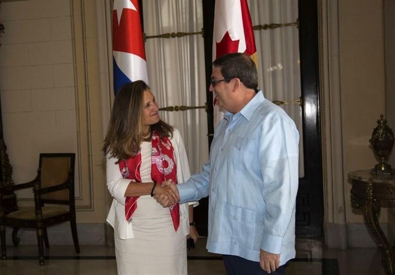 کوبا خواهان لغو تحریم های واشنگتن علیه ونزوئلا شد