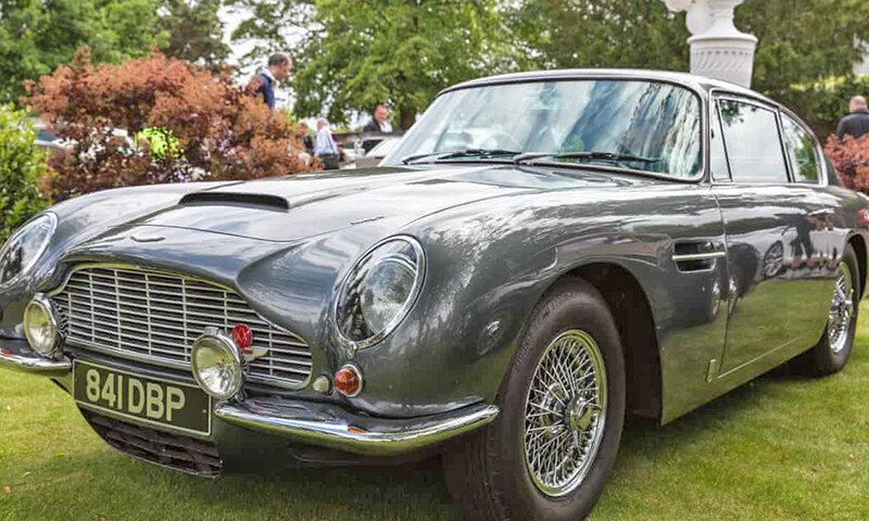 خودروی 54 ساله جیمز باند شش میلیون دلار فروخته شد
