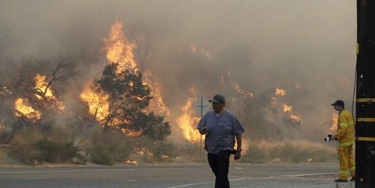 افتضاح مدیریتی مدعی رهبری جهان، 17 منطقه در سراسر کالیفرنیا در حال آتش سوزی است، 94 هزار هکتار از جنگل ها در آتش سوخت