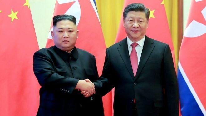 کره شمالی میزبان رئیس جمهوری چین