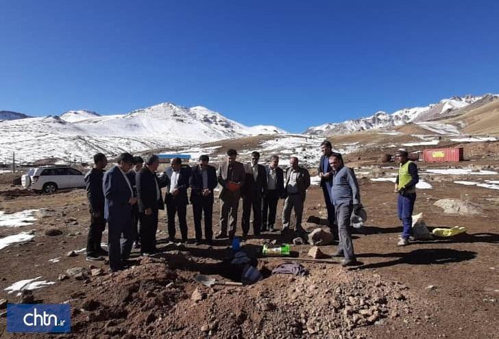 شروع عملیات اجرایی برق رسانی به پیست اسکی اوجور