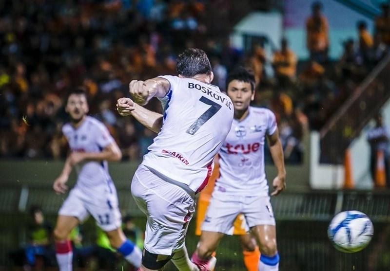 پیروزی پرگل بانکوک یونایتد در غیاب پولادی
