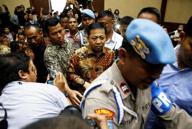 رییس سابق مجلس اندونزی به 15 سال حبس محکوم شد