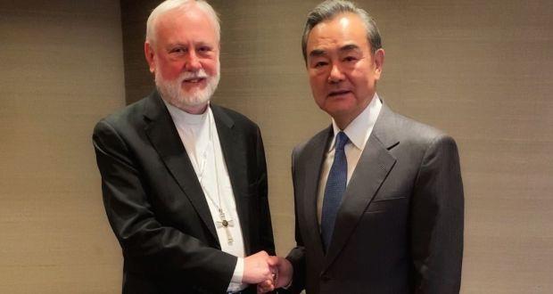 ملاقات کم سابقه وزیران خارجه چین و واتیکان، پکن رهبری پاپ را می پذیرد؟