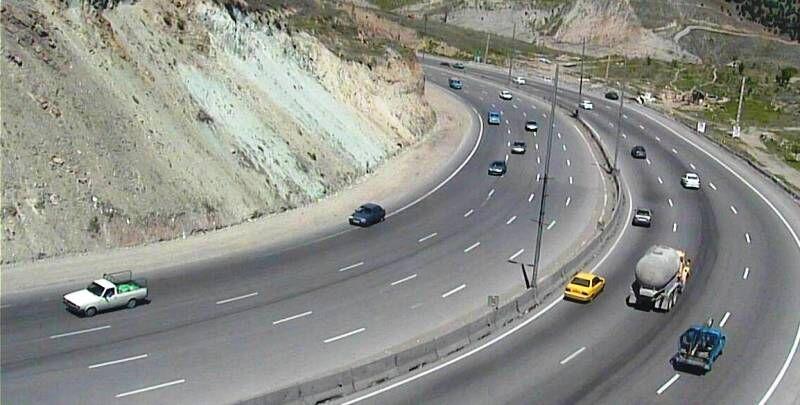 خبرنگاران سفرهای نوروزی از جاده فیروزکوه کاهش چشمگیری داشته است