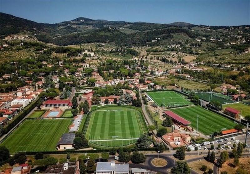 کمپ تیم ملی فوتبال ایتالیا به بیمارستان تبدیل شد