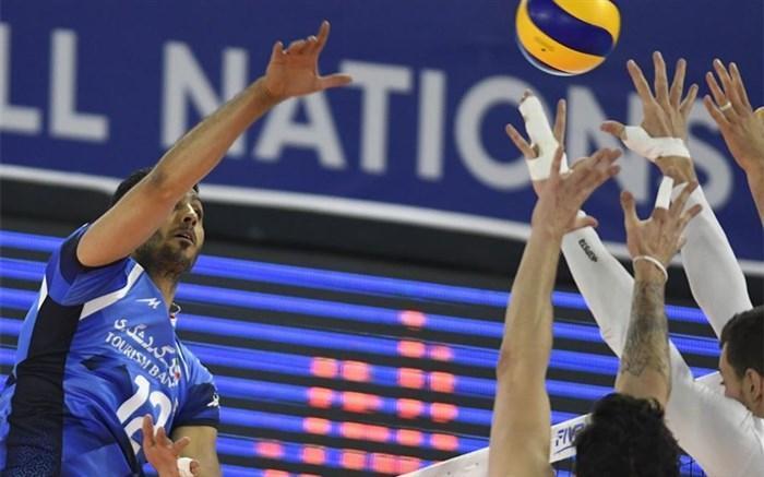 لیگ ملت های والیبال؛ ادامه شیب نزولی برای والیبال ایران