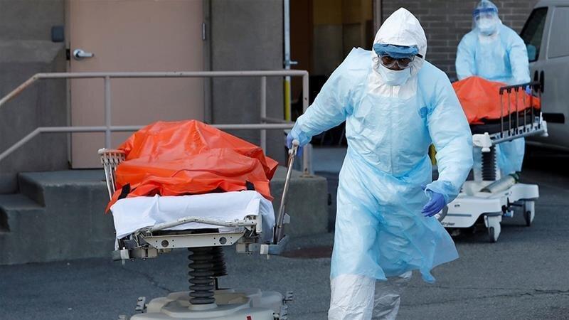 آمریکا بیشترین تلفات روزانه کرونا را گزارش کرد، شمار بیماران از 600000 گذشت