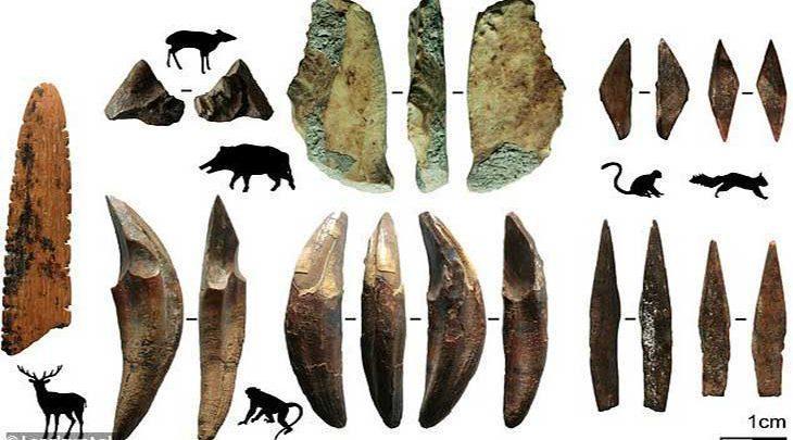 کشف قدیمی ترین تیر و کمان در خارج از آفریقا