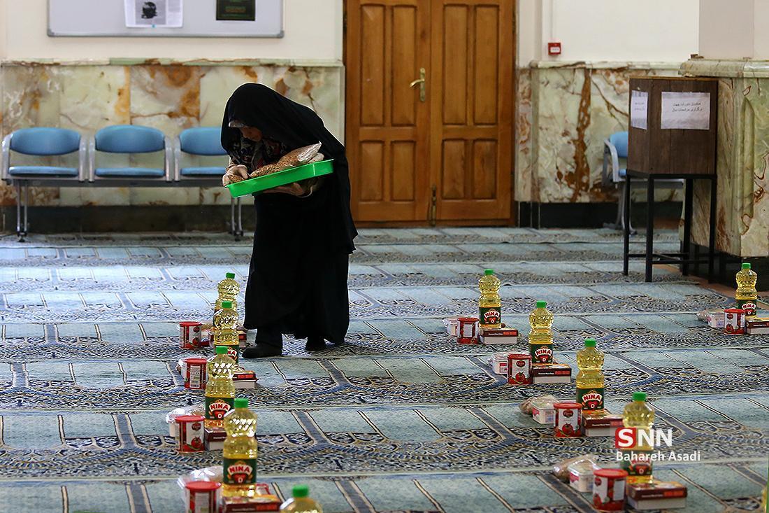 60 بسته ارزاق به همت جمعیت خیریه دانشجویی صبح امید در بین نیازمندان توزیع شد