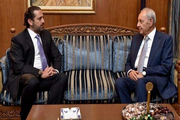 رایزنی سعد حریری با رئیس مجلس لبنان