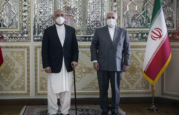 ملاقات سرپرست وزارت خارجه افغانستان با ظریف