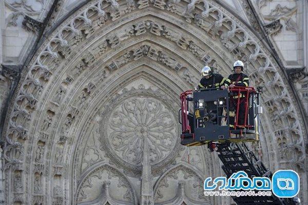 نگرانی های کارشناسان از آتش سوزی کلیساهای تاریخی فرانسه