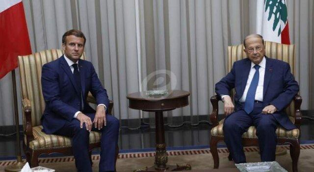 توافق عون و ماکرون بر سر ادامه ارتباط برای پیگیری اجرای نتایج کنفرانس پاریس