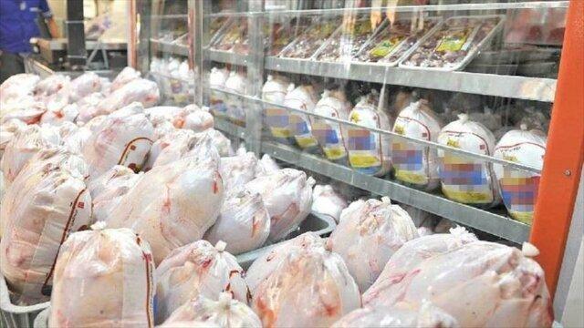 قیمت مرغ در میادین میوه و تره بار ، کیلویی 13 تا 15 هزار و 750 تومان