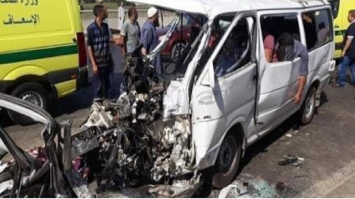 16 کشته و زخمی در تصادف مرگبار در مصر