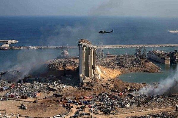 انفجار بیروت حفره ای به عمق بیش از 40 متر ایجاد کرده است