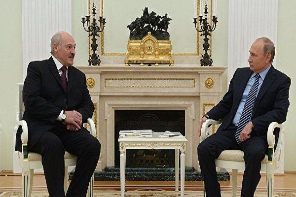 محورهای مذاکره پوتین و رئیس جمهور بلاروس