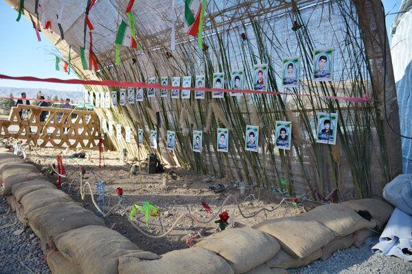 خبرنگاران نمایشگاه 40 سالگی دفاع مقدس در اردبیل برگزار می گردد