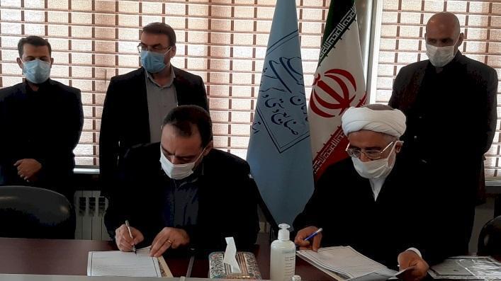 تفاهم نامه اداره کل تهران و اداره کل دادگستری تهران امضا شد