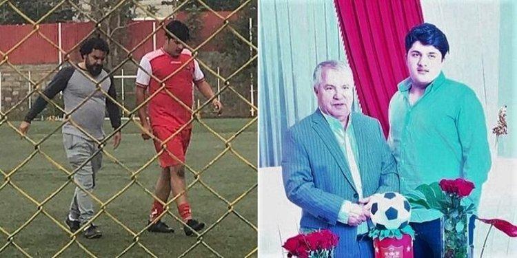 (تصویر) مشکل نوه علی پروین نیست!