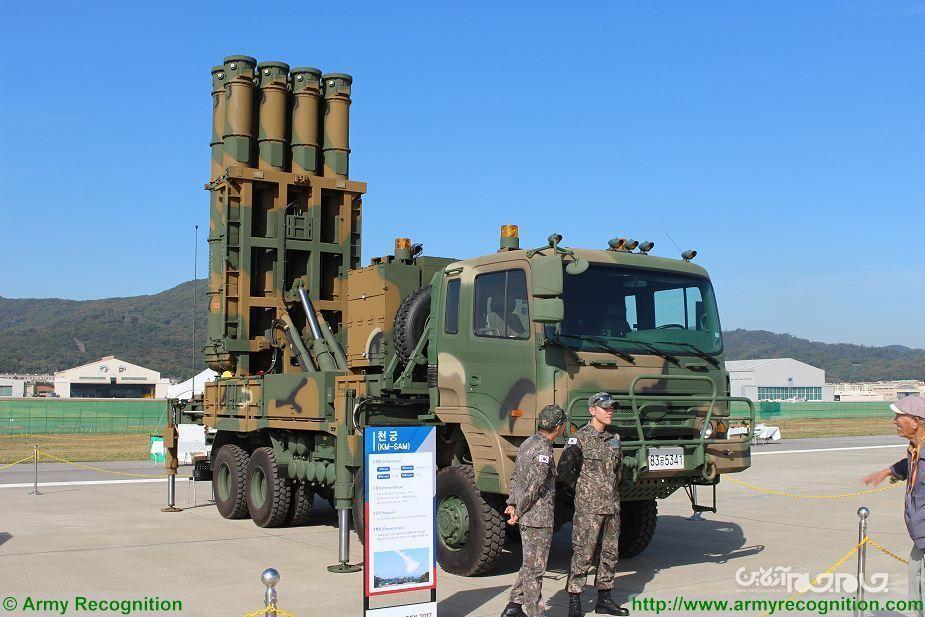 ارتش کره جنوبی، سامانه پدافندی جدید را تحویل گرفت