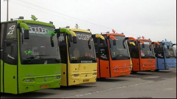 خبرنگاران تردد مسافر با اتوبوس از پایانه مرزی تمرچین از سر گرفته شد