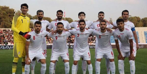 تیم ملی فوتبال ایران بدون تغییر در رده 29 جهان