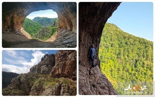غار دربند رشی؛از اولین سکونتگاه های بشری در ایران