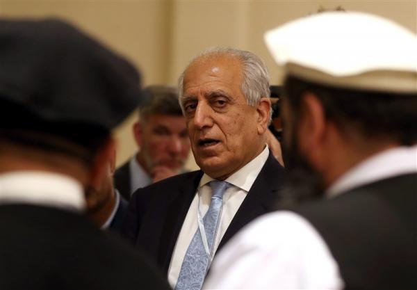 خلیلزاد طرح دولت موقت را با طالبان بیان کرد