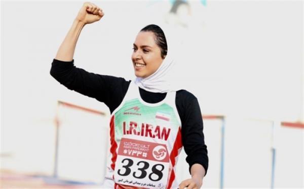 دختر ایرانی قهرمان تورنمنت بین المللی دوومیدانی اروپایی شد