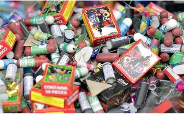 کشف بیش از 699 هزار عدد انواع مواد محترقه و نخ سیگار