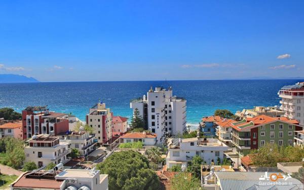 هتل آسنا؛ اقامتگاهی سه ستاره در ساحل زیبای کوش آداسی