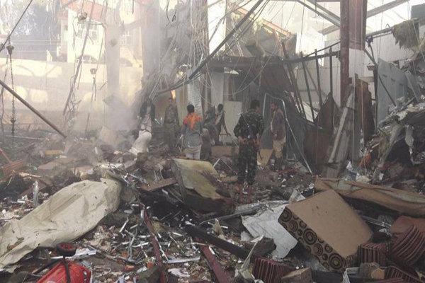 بمباران های استان های یمن توسط سعودی ها، هدف قرار دادن مأرب