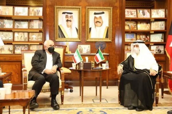 وزیران خارجه ایران و کویت ملاقات کردند