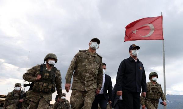 کشته شدن 53 عضو پ.ک.ک و 7 سرباز ترکیه در شمال عراق
