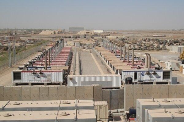 حمله راکتی به پایگاه آمریکایی ویکتوری در فرودگاه بغداد