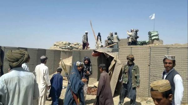 سقوط چهار شهرستان افغانستان به دست طالبان