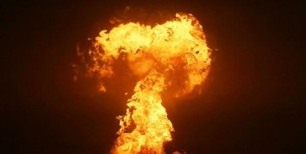 انفجار در سواحل خزر نزدیک باکو