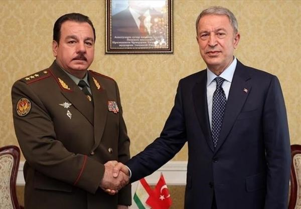 سفر وزیر دفاع ترکیه به تاجیکستان